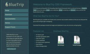 BlueTrip CSS Framework